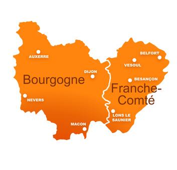 region bourgogne franche comt une belle grande r gion. Black Bedroom Furniture Sets. Home Design Ideas
