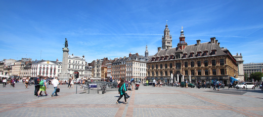 Lille Metropole Europeennne Hauts de France Nord pas Calais