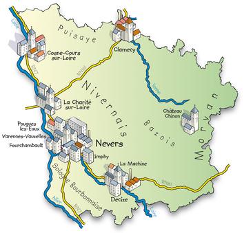 Yonne en region bourgogne franche comt for Region yonne