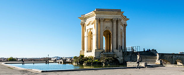 Montpellier la ville proche de la Méditérranée la metropole