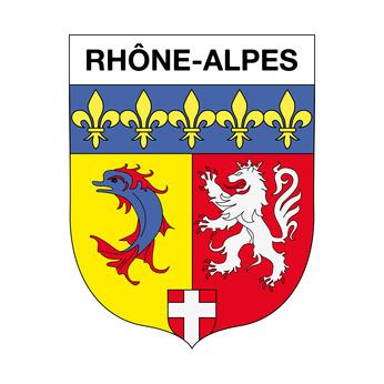 RHONE ALPES région du Sud Est de la France