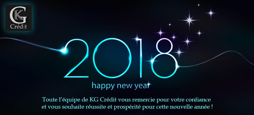 Nos meilleurs voeux 2018